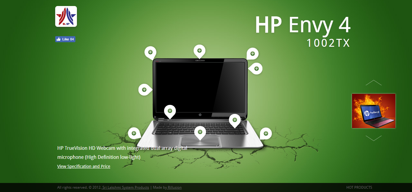 HP uses green to promote freshness