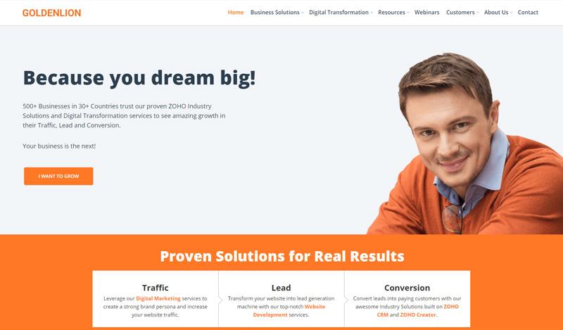 Website Design for improved search