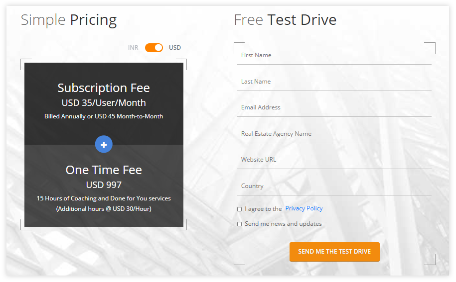 Web forms promising incentives