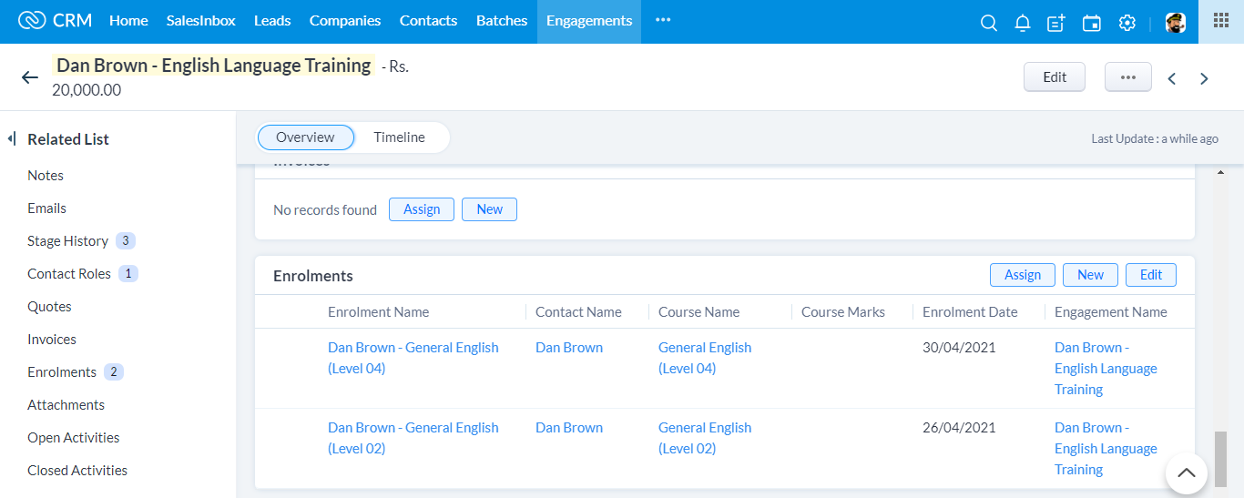 CRM for Training Providers